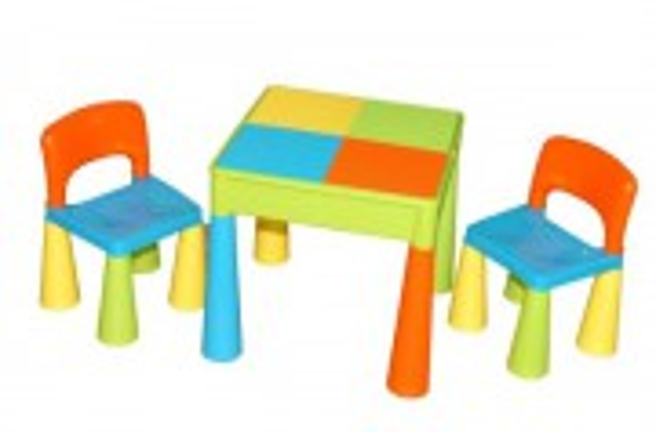 Stolek s židličkami MAMUT milticolor